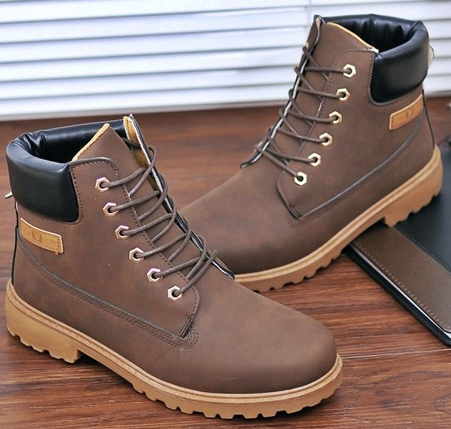 Bota Casual SWAG Estilo Timber Caterpillar Importada na internet