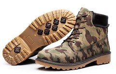 Imagem do Bota Casual SWAG Hip Hop Estilo Timber Importada Camuflada