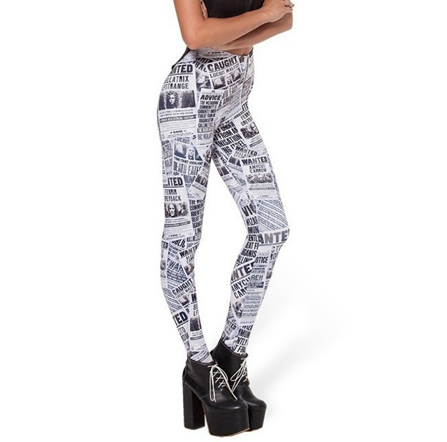 Calça Feminina Legging Estampada Fashion