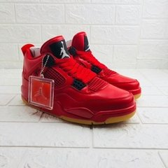 Imagem do Tenis AirJordan 4 Retro Fire Red Singles Day 2018 Importado