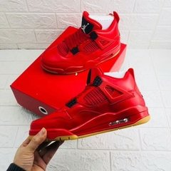 Tenis AirJordan 4 Retro Fire Red Singles Day 2018 Importado na internet