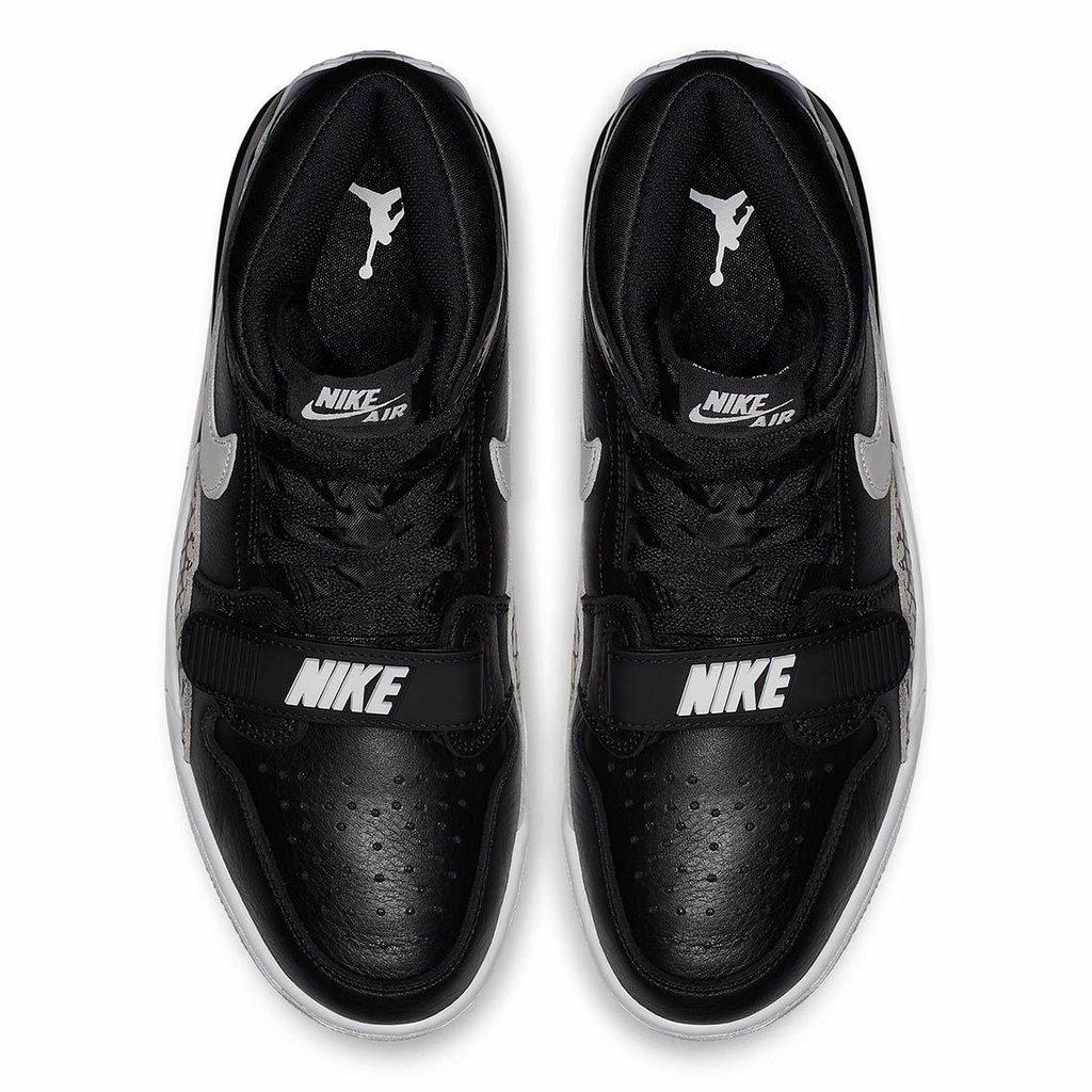 "c167743009e Tenis NIKE Don C Air Jordan Legacy 312 ""Black Cement"""