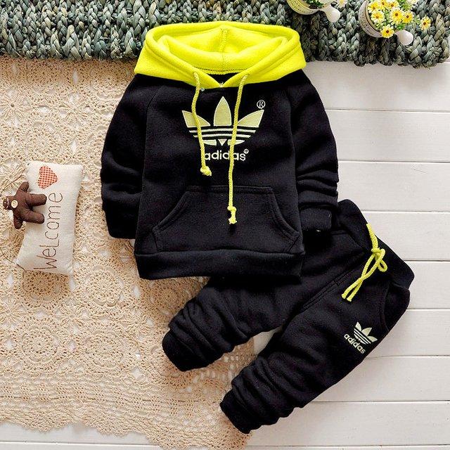 6c63c40463f70 Conjunto Infantil Adidas Capuz Moletom + Calça Importado