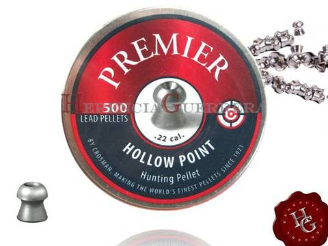 Balines Crosman Hollow Point 5,5 mm