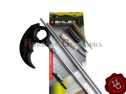 Kit Limpieza Shilba Arma Larga Rifle Fusil Cal 30