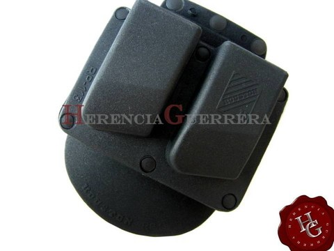 Porta Cargador Doble 9/40 Houston Ranger RP113