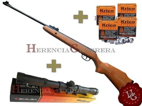 Combo Rifle Crosman Optimus 4.5mm (Mira+400 Balines) - comprar online