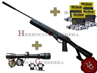 Combo Rifle Crosman TR22 5.5mm (Mira Center Point 4x32 + 400 Balines)
