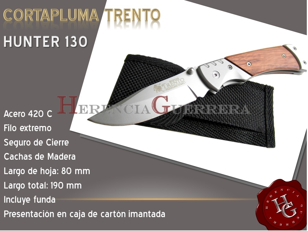 Cortapluma Trento Hunter 130