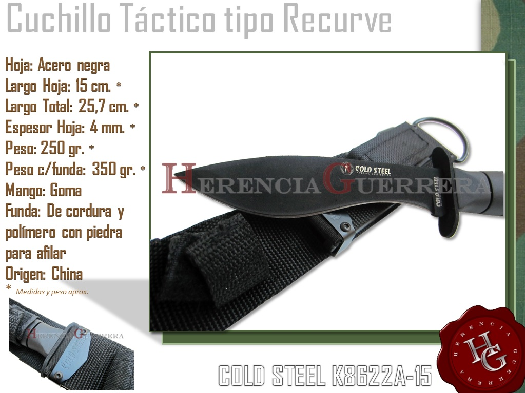 Cuchillo Cold Steel K8622A-15