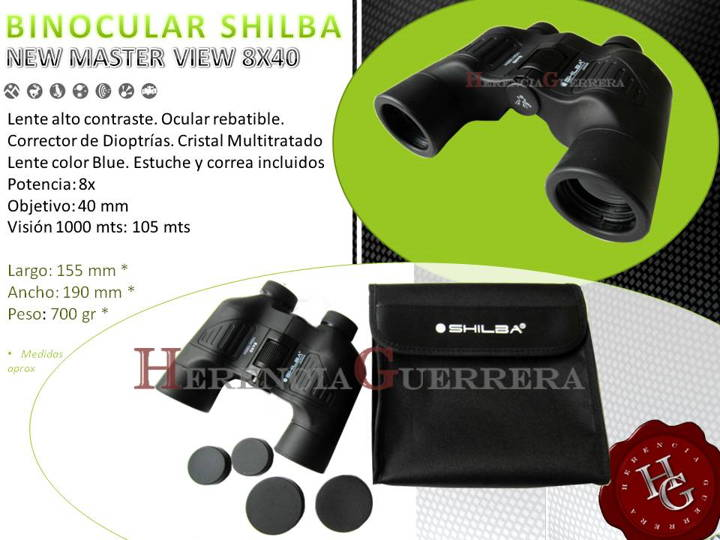 Binocular Shilba New Master View 8x40 Blue