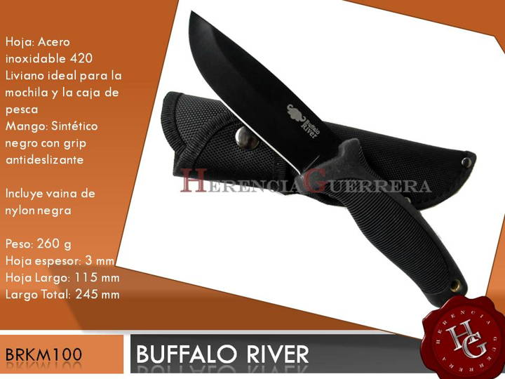 Cuchillo Buffalo River BRKM100