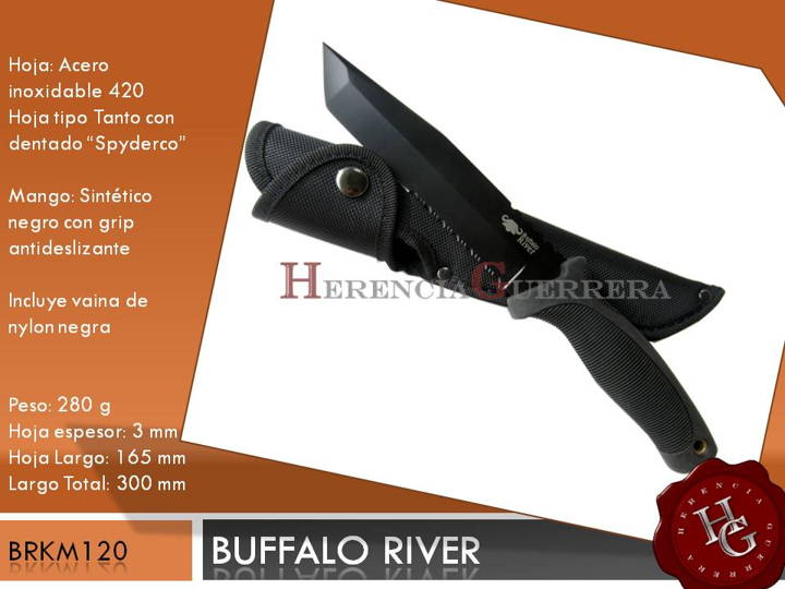 Cuchillo Buffalo River BRKM120