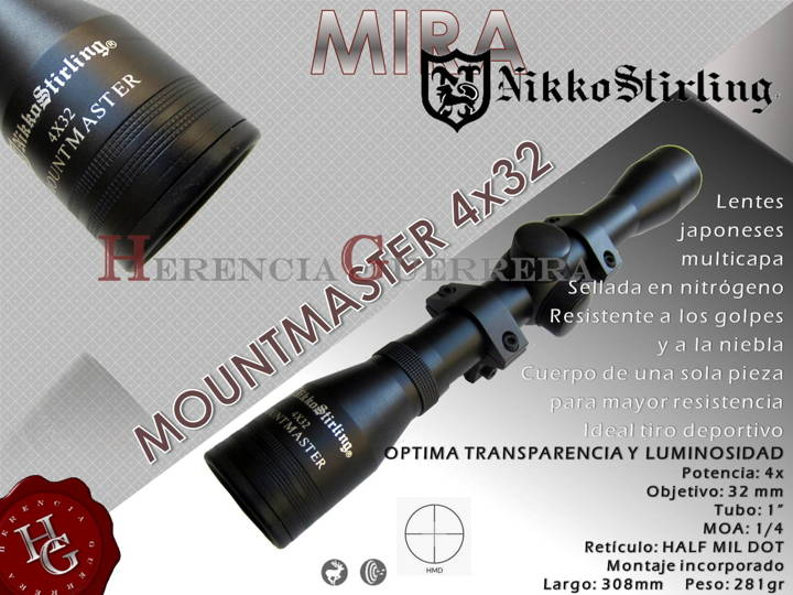 Mira Nikko Stirling Mountmaster 4x32