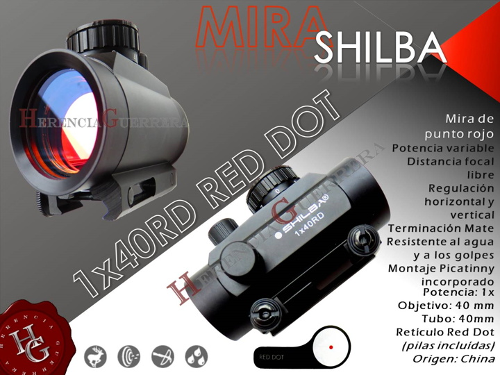 Mira Shilba 1x40 Red Dot RD40