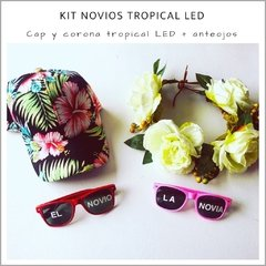 Kit Novios Tropical LED