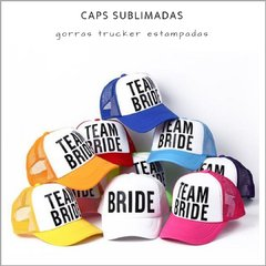 Caps sublimadas - Pack x 10