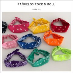 Pañuelos rock n roll - Pack x 10
