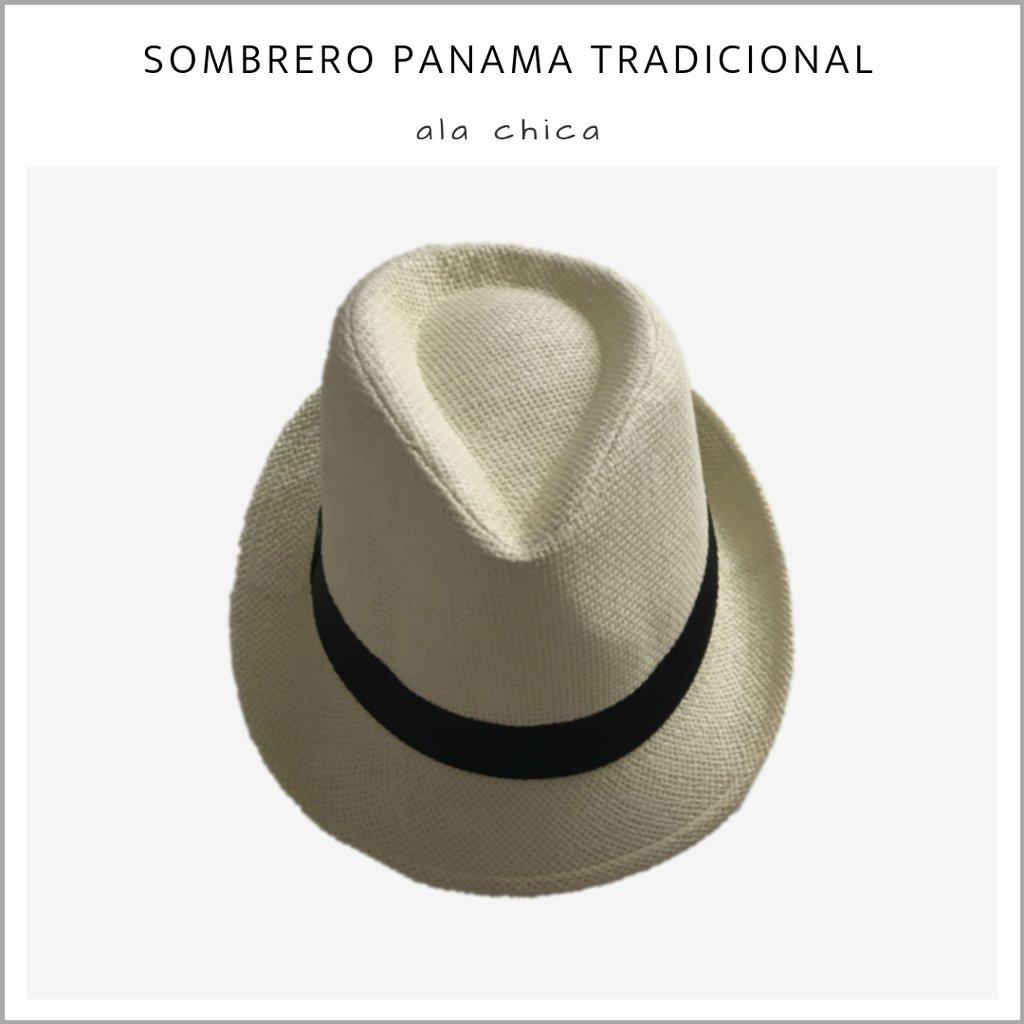 a89a136b52a7b Sombrero Panamá tradicional ala chica - Pack x 10