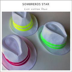 Sombrero STAR - Pack x 10