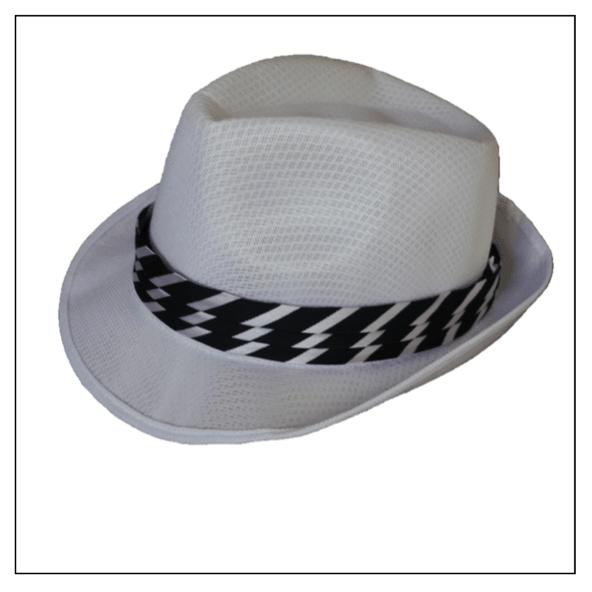 4286a6da77b46 Sombrero Panamá Rayas Blanco - Pack x 10. 1