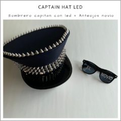 Captain HAT Led y anteojos