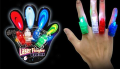 Anillos linterna led - Pack x 4 en internet
