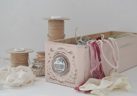 Cajoncito Antique Rose - comprar online