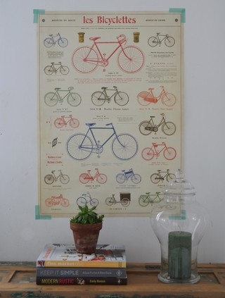 Poster Les Bicyclettes -