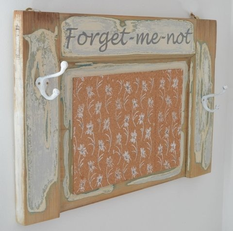 Perchero-Board Forget-me-not