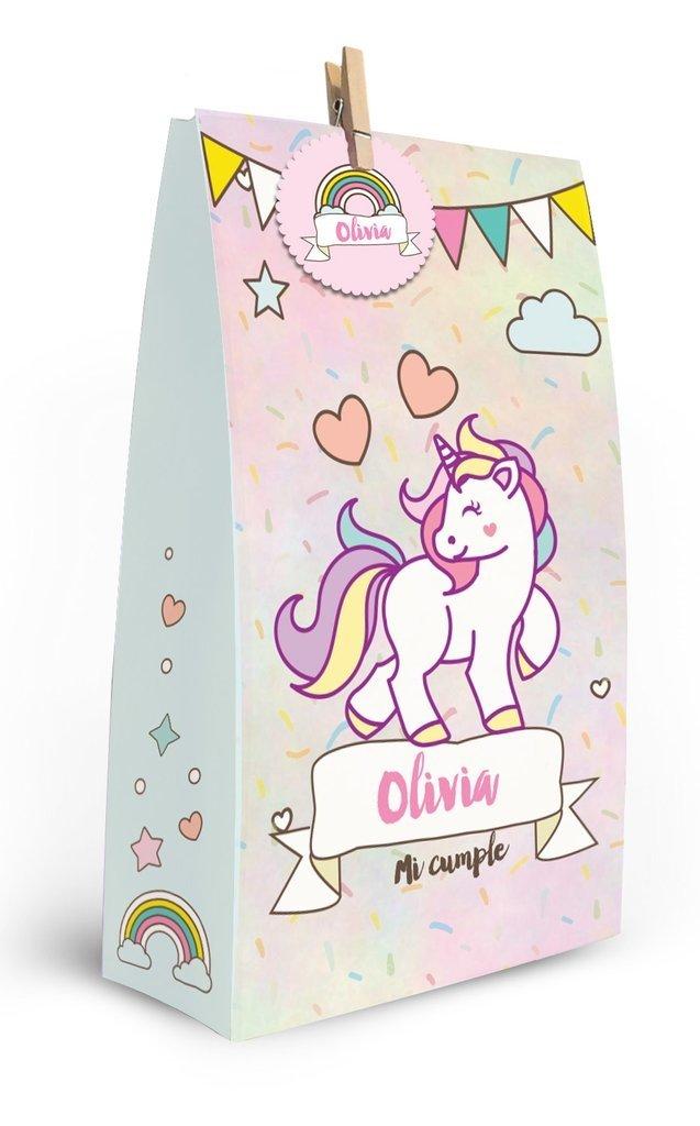 Unicornios // Bolsitas golosineras personalizadas