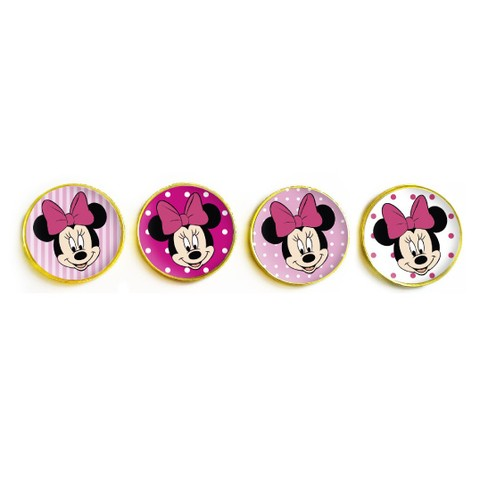 Moneditas chocolate personalizadas // Minnie en internet