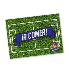 Individuales de papel // Boca Juniors Fútbol en internet