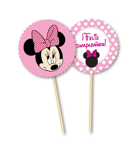 Minnie // Toppers personalizados en internet