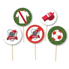 River Plate Fútbol // Toppers personalizados - comprar online