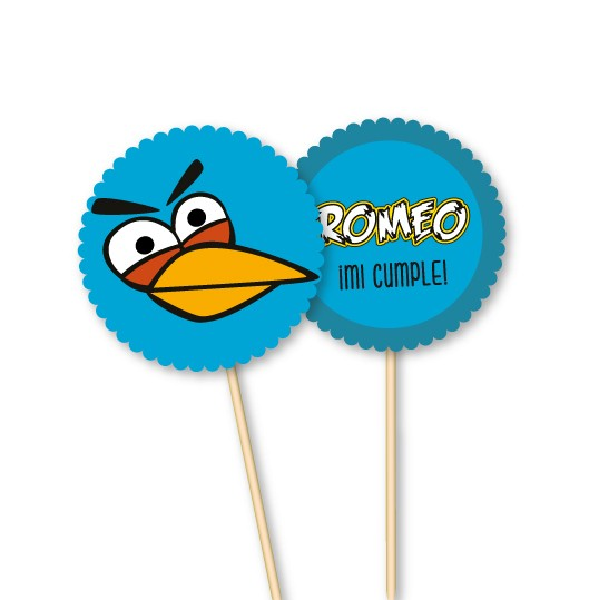 Angry Birds // Toppers personalizados - comprar online