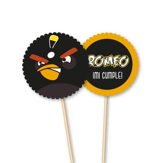 Angry Birds // Toppers personalizados
