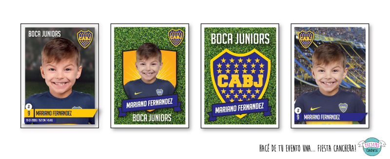 figuritas Boca Juniors