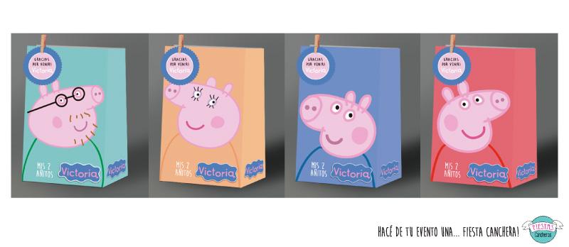 b6f769d78 bolsitas personalizadas golosineras de peppa pig