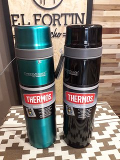 TERMO THERMOS EVERYDAY 1TL ACERO INOXIDABLE CON PICO CEBADOR