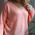 Sweater Ginger Coral
