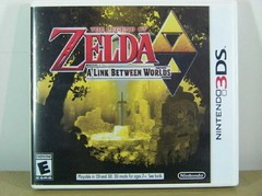 The Legend of Zelda: A Link Between Worlds Original, Usado e completo.