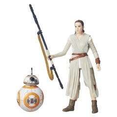 STAR WARS THE BLACK SERIES 16 cm REY (JAKKU) E BB-8