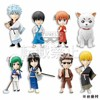 Gintama - Gintama World Collectable Figure vol.1 set completo com 08 figuras.