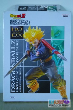 Trunks do Futuro translucido DBZ Dragon Ball Z Hqdx Original Banpresto!!