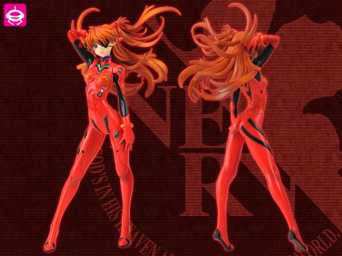 Evangelion  - Souryuu Asuka Langley - PM Figure - Eyepatch ver., Vol. 8 (SEGA)