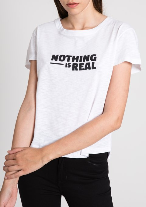 Remera Nothing Gal Blanco