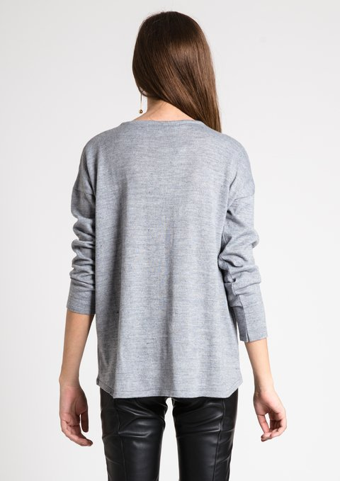 Sweater California Gris - Becci