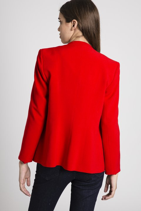 Blazer Manhattan Rojo en internet