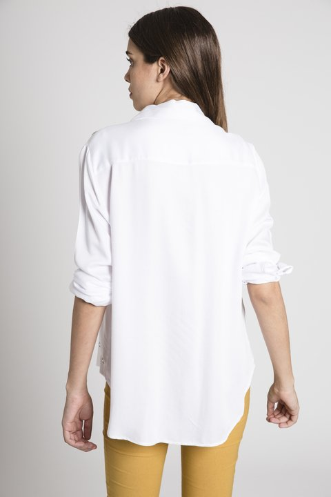 Camisa Helena Off White en internet